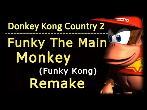 Donkey Kong Country 2 Funky Kong theme remake