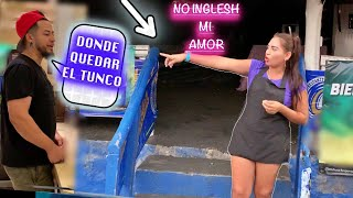HABLANDO ENGLISH 🇺🇸 EN EL SALVADOR 🇸🇻 Y PICANDOMELA 😎