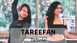 Tareefan | Belly Dance Tutorial | Veere Di Wedding | Team Naach Choreography