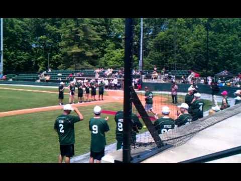 Celebrity Softball game @ Big Train Park 5-20-12 Athletes vs. Media
