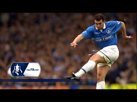 Everton smash one in v Newcastle | From The Archive