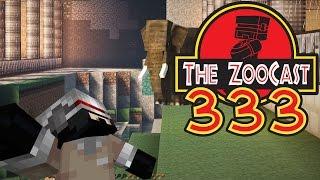 Minecraft Jurassic World (Jurassic Park) ZooCast - #333 A Jungle Adventure!
