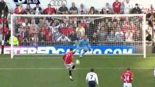 Manchester United 5 vs Totteham 2 --- Premier League 25 / 04 / 2009