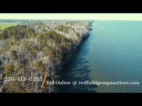 Online Auction - 12.46 acs on Lake Eufaula in Alabama