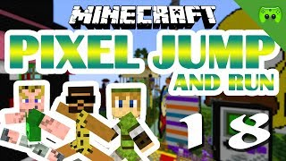 MINECRAFT Adventure Map # 18 - Pixel Jump & Run «» Let