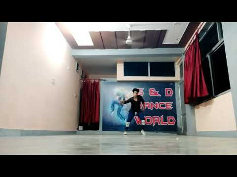 kabir-singh:bekhayali-||song||-freestyle-dance-by-deepak-thapa
