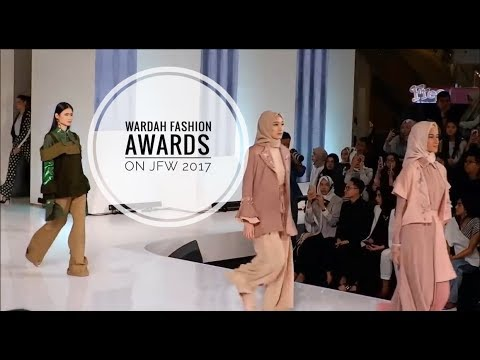 Jakarta Fashion Week 2018 | kasih support temen di Wardah Fashion Awards