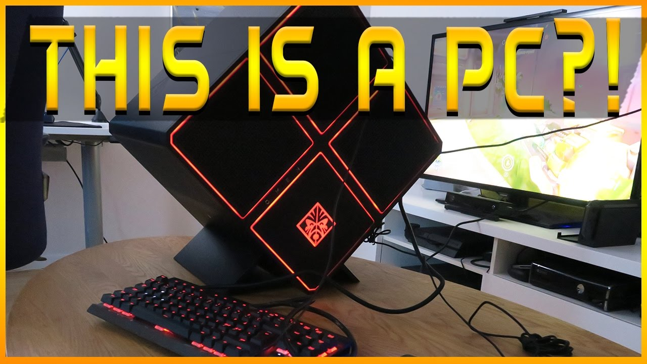 This Is A Pc Omen X By Hp Unboxing And Setup Youtube