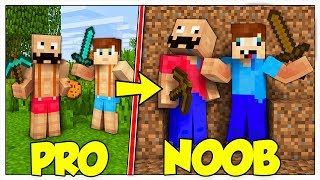 SIAMO DIVENTATI NOOB! - Minecraft ITA