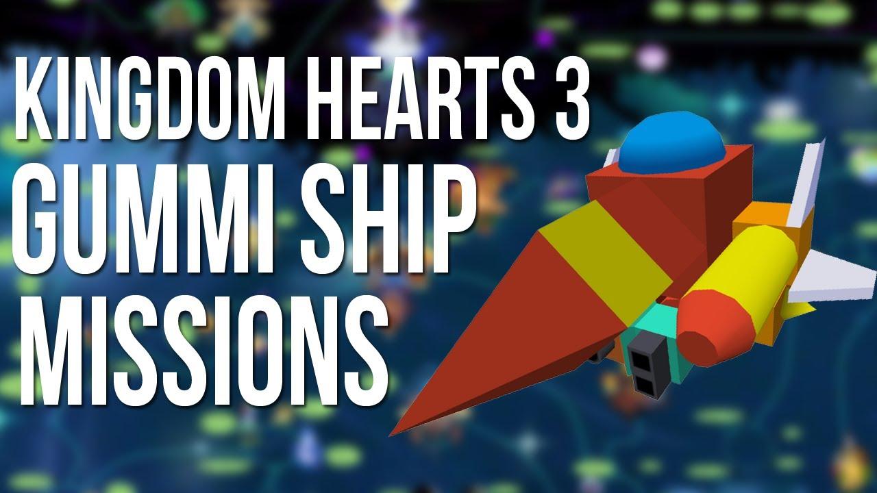 Kingdom Hearts 3 Director Confirms Gummi Ship Will Return, New Magic Ability Tiers