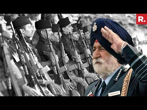 17-Gun Salute, Fly Past For Air Marshal Arjan Singh