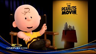 Charlie Brown And The Cast Of The Peanuts Movie