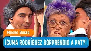 """El """"Cuma Rodríguez"""" sorprende a la Tía Paty - Mucho Gusto 2018"""