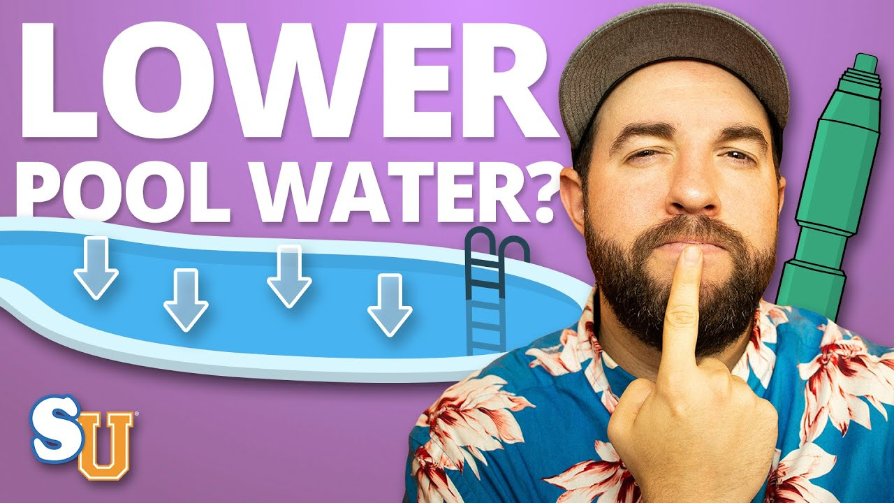 Do You Need To Lower The Pool Water When You Close Youtube