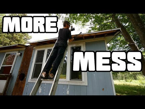 More Mobile Home Mess | Fixing the Roof Eaves | Home ... on motor scooter meme, co op meme, storage unit meme, time share meme, dwelling meme, live with parents meme, villa meme, renter meme, black rabbit meme, camper trailer meme, small house meme, private property meme, patio meme, inseparable meme, motorhome meme, no boat meme, new construction meme, income meme, hurricane supplies meme, trailer house meme,