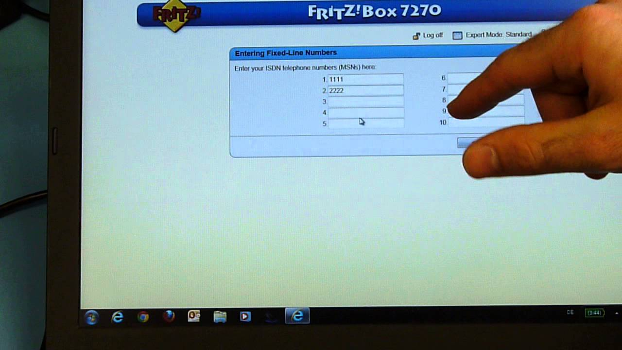 snom: How to setup IP telephone system with FRITZ!Box