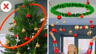 Christmas Room Decor and DIY Life Hacks Ideas You Must Try! Part 2