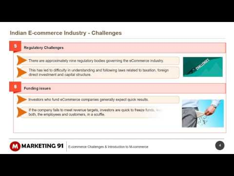 Challenges of E commerce Industry of India