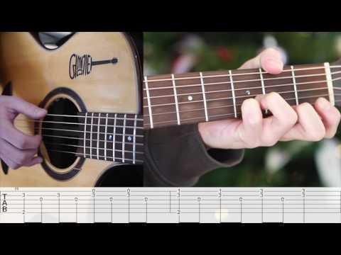 [어썸핑거/ASOME FINGER] Lost stars - Adam Levine finger style tutorial 강좌 난이도/Level ★ ★ ☆ ☆ ☆