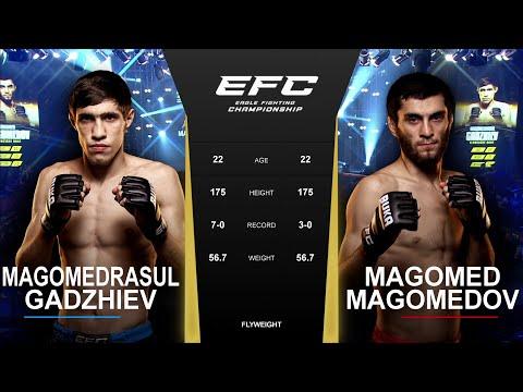 Борцовское противостояние | EFC 42: Магомедрасул Гаджиев - Магомед Магомедов
