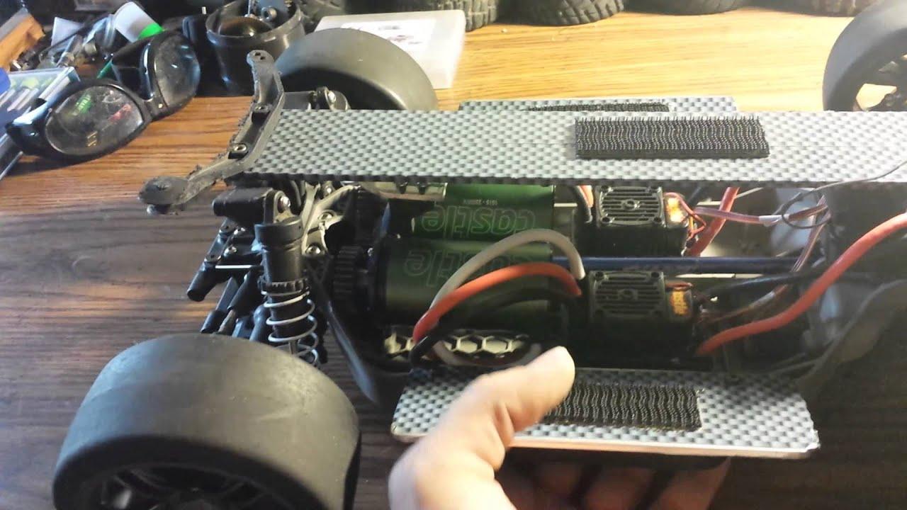 slash 4x4 dual motor setup
