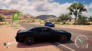 Forza Horizon 3 Review And Driving 2015 Dodge Challenger SRT Hellcat At Top Speed