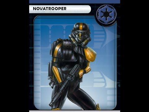 Custom Star Wars Miniatures Novatrooper Youtube