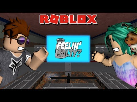 GETTING REALLL SALTY ABOUT LOSING! -- ROBLOX Flee the Facility (BONUS VIDEO)