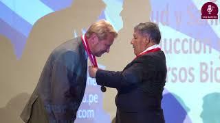 Tema: Profesor Honorario de la UNMSM al Dr. Peter Sutovsky,