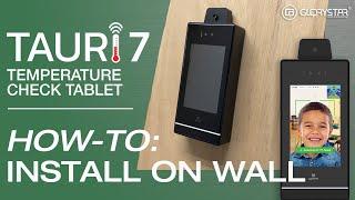 TAURI 7 Step-by-step Wall Installation