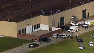 Students at Santa Fe High School return to pick up belongings