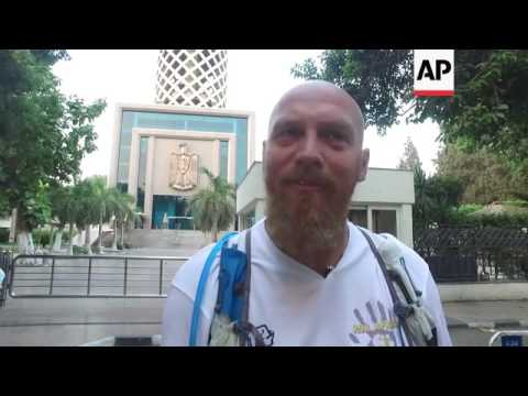 School teacher sets off in Cairo to Cape town run