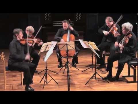 Johannes Brahms: String Quintet Op.88 live at SMKS Denmark