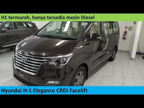 Hyundai H1 Elegance CRDi Facelift review - Indonesia