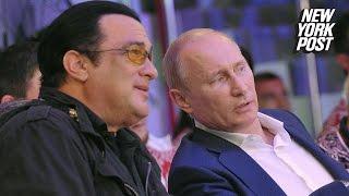 Steven Seagal granted Russian citizenship by his good pal Vladimir Putin