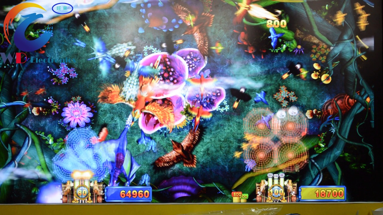 9419 shooting phoenix two players customized fish gambling for Fish game gambling