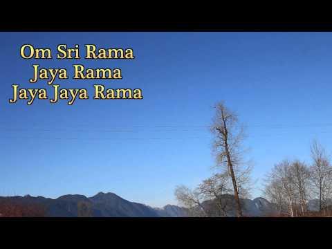 How To Chant The Om Sri Rama Jaya Rama Jaya Jaya Rama Mantra