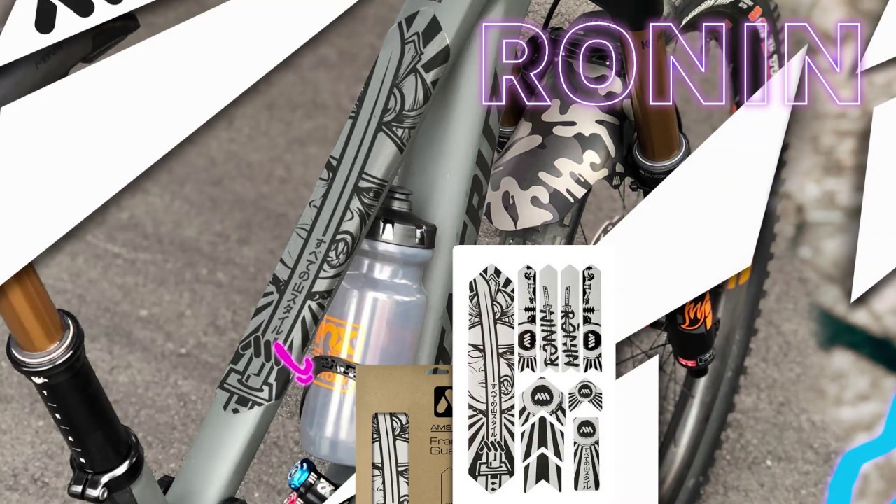 Ronin//Black All Mountain Style Honeycomb Frame Guard XL