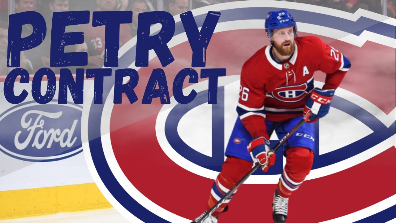 Jeff Petry Contract Extension Update With Canadiens Youtube