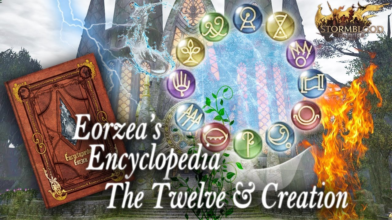 Ffxiv The Twelve Creation Lore Reading Youtube