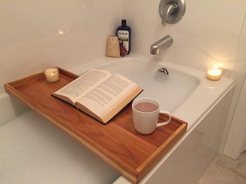 Build a Bathtub Tray