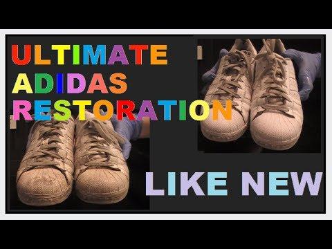 Ultimate Adidas Superstar Shoe Restoration (ASMR)
