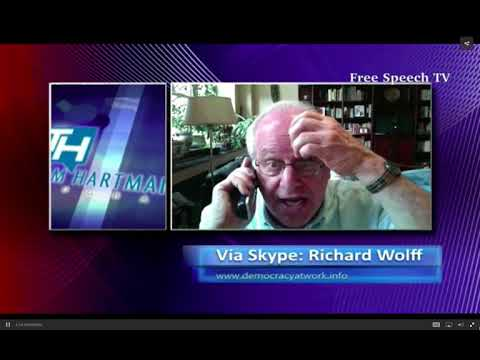 Richard Wolff with Thom Hartmann on stock buybacks, tax reform, and Catalonia crisis