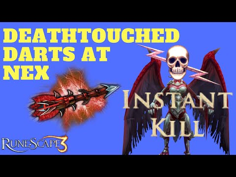 Loot From Deathtouched Darts at Nex! Runescape 3 (2018)