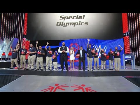 WWE and Special Olympics team up for Play Unified: Raw, June 27, 2016