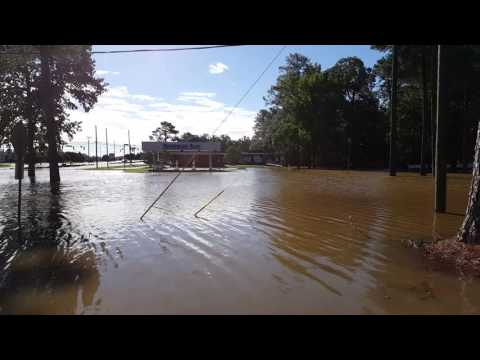 Hurricane Matthew - Rocky Mount, NC - Sunset Ave
