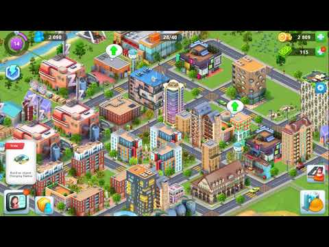 Global City #9 Reached Level 14 & Build Tools factory