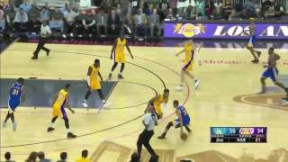 Kevin Durant, Stephen, Curry & KlayThompson Highlights - Golden State Warriors vs LA Lakers 2016