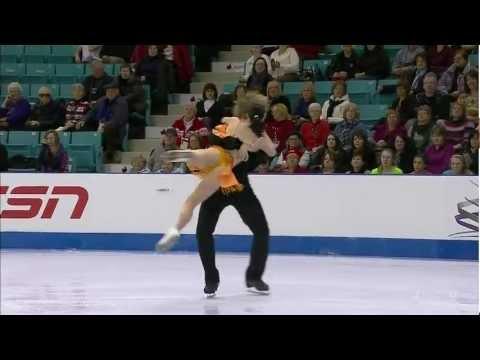 Nicole Orford & Thomas Williams. SD. 2012 Canadian Figure Skating Championships