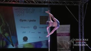 Anastasia Akentyeva - Mistrovství ČR v pole sport 2017 - Ženy elite - finále